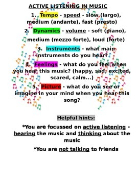 Active Listening In Music