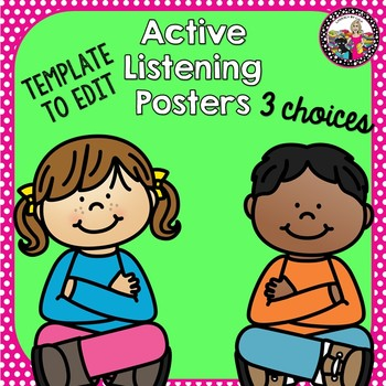 Active Listening & Magic 5 Posters!