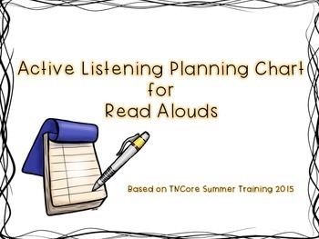Active Listening Planning Chart