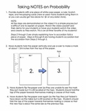 Active Notetaking in Math [Foldables]: Probability