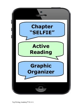 """Close Reading Graphic Organizer: """"Chapter SELFIE"""""""