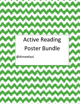 Active Reading Poster Bundle