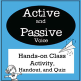 Passive Voice and Active Voice Hands-on Class Activity