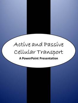 Active vs. Passive Transport PowerPoint