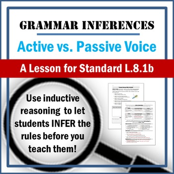 Active vs. Passive Voice Lesson: Inferring Grammar using I