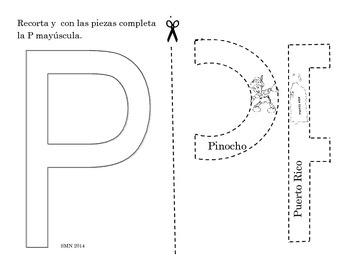 Actividad interactiva - alfabeto en mayúsculas