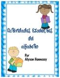 Actividades Excelentes del Alfabeto (Excellent Alphabet Ac