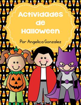 Actividades de lectura sobre Halloween (Halloween literacy