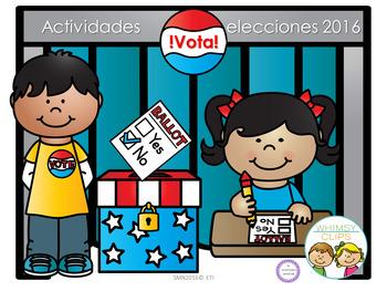 Actividades elecciones 2016