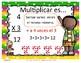 Actividades interactivas de Multiplicación para los más chicos