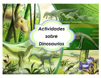 Actividades sobre los Dinosaurios