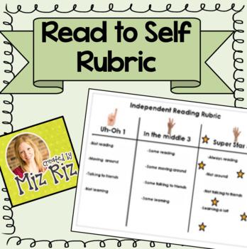 Activinspire Independent Reading Flipchart Rubric