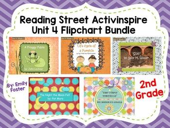 Reading Street Flipcharts Common Core Second Grade Unit 4