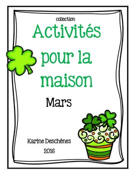 Activités pour la maison-MARS