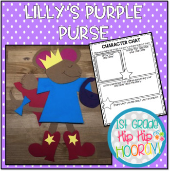 Activities and a Craft for Lilly's Purple Plastic Purse!