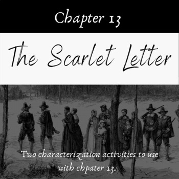 Activities for Chapter 13 of The Scarlet Letter