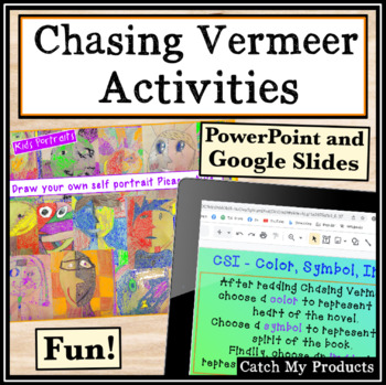 Activities for Chasing Vermeer and Art Studies for Gifted