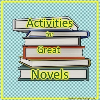 Activities for Great Boy Novels...Bundle