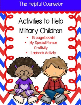 Activities for Military Children: Booklet, Lapbook, and Cr