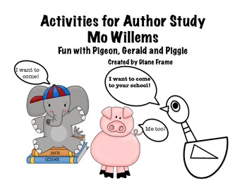 Activities for Mo Willems
