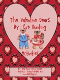 Activities for The Valentine Bears by Eve Bunting-UPDATED 2/6/13