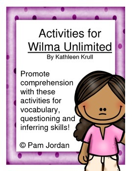 Activities for Wilma Unlimited by Kathleen Krull