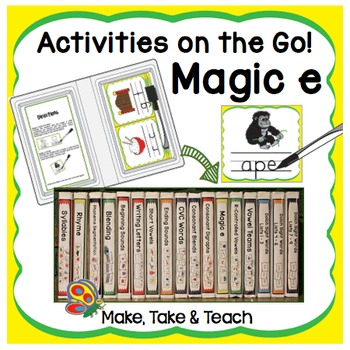 Magic e - Activities on the Go!