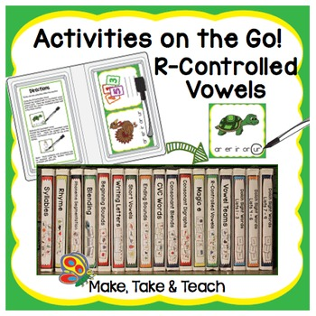 R-Controlled Vowels - Activities on the Go!