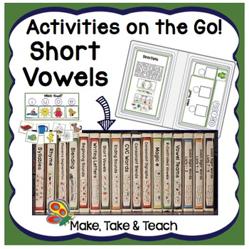 Short Vowels - Activities on the Go!