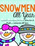 Activities to Accompany Snowmen All Year