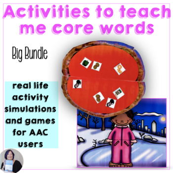 Activities to Teach Me Core Words Bundle for AAC and Emerg