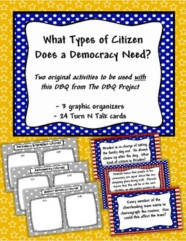 Activities to be used with the DBQ -What Type of Citizen D