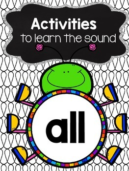 Activities to practice the sound {all}