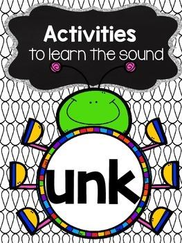 Activities to practice the sound {unk}