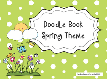 Activity Book:  Doodle Book Spring Theme