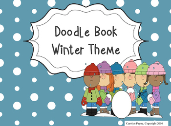 Activity Book:  Doodle Book Winter Theme