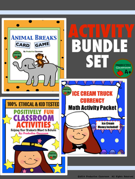 Activity Bundle Set of 3 - Learning with Fun!