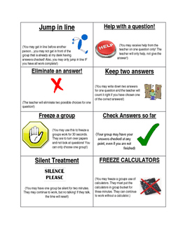 Activity Cards for Group Work