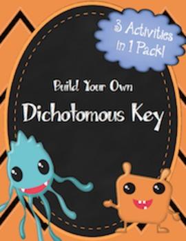 Activity Pack: Create A Dichotomous Key