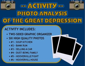 Activity: Photo Analysis of the Great Depression