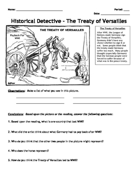 Activity: World War II Historical Detective - Analysis and