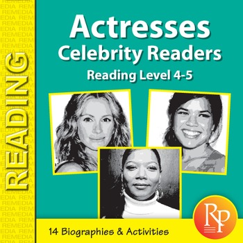 Actresses: Celebrity Readers
