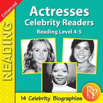 Actresses: Celebrity Readers - Enhanced