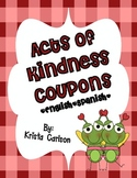 Acts of Kindness Coupons (Bilingual)