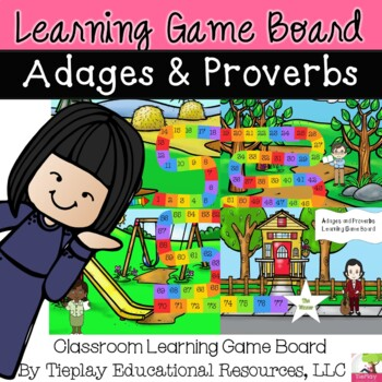 Adages and Proverbs Learning Game Board
