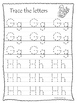 Adam and Eve A-Z Tracing printable worksheets. Preschool B
