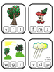 Adam and Eve Beginning Sounds Clip It printable game. Pres