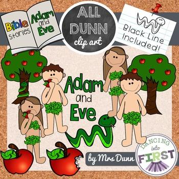 Adam and Eve Clip Art
