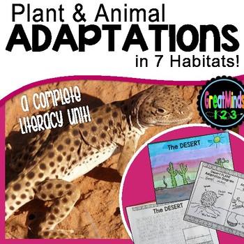 Habitat and Adaptation Activities (Plant, Animal, Human)