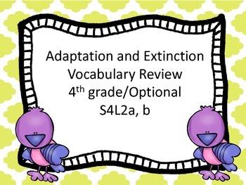 Adaptation and Extinction